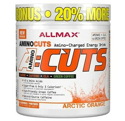 Allmax Nutrition Amino Cuts 36 Serves - Arctic Orange