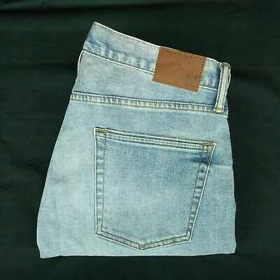 Gap jeans 31x32 mens blue stretch denim relaxed fit New with tags a30-2