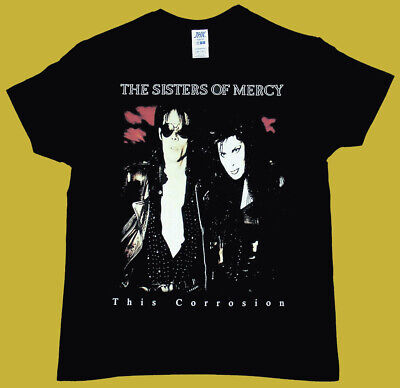 Black t-shirt SISTERS OF MERCY This Corrosion 100% soft cotton