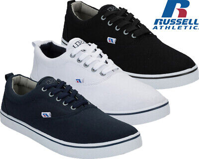 Mens Lace up Casual Canvas Shoes Plimsolls Oxford Skates Gym Trainer Pumps Size