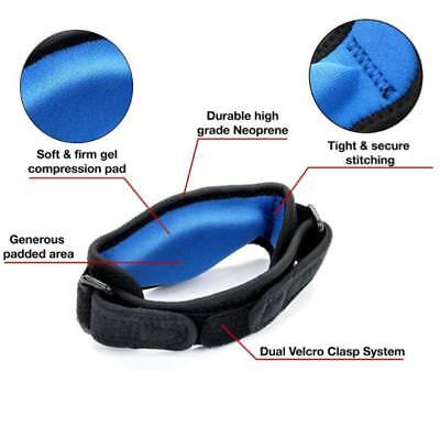 Tennis Elbow Brace Strap Tendonitis Golfers Gel Band Golf Relief Support GN
