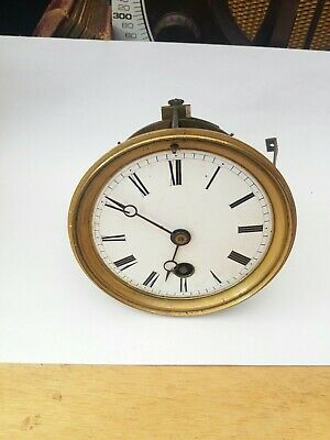 Antique Japy Freres French Clock Movement. Spares Or Repair