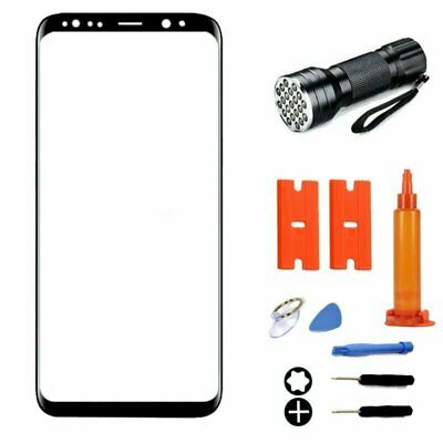 Front Outer Screen Glass Lens Replacement Repair Kit For Samsung Galaxy Note 9