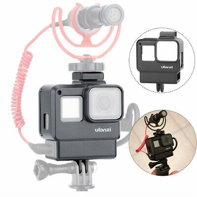 ULANZI V2 Protective Housing Case Vlogging Frame Cage Mount for GoPro Hero 7 6 5