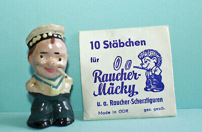 Raucherfigur magische Zigarette Matrose / Smoky / Sailor with Magic Cigarettes
