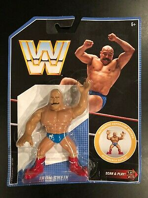WWE Retro Iron Sheik Series 8 Mattel Wrestling Figure 2019