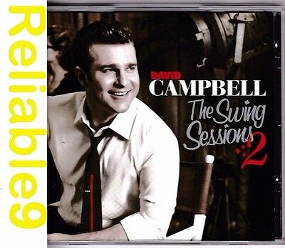 David Campbell - The Swing sessions Vol.2 CD - 2007 Sony - Made in Australia