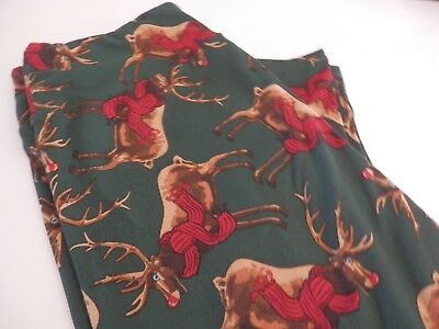 0bcaff6a292746 LULAROE CHRISTMAS RUDOLPH Reindeer Leggings Tween Junior - $6.00 ...