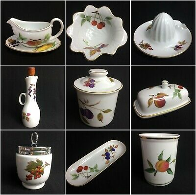 Royal Worcester Evesham Gold - CHOOSE Replacement Pieces - MAX P&P In UK £3.99