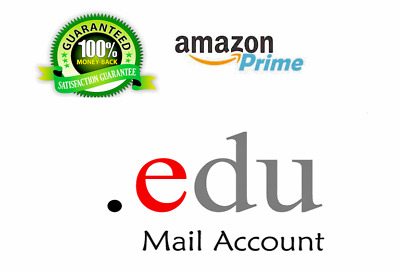 ✔Edu Email 6Months Amazon Prime Unlimited Google Drive Storage US Student Mail ✅
