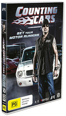 BRAND NEW Counting Cars - Get Your Motor Running (DVD, 2019, 2-Discs) *PREORDER