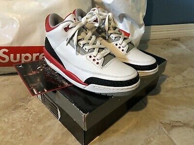 ff4fdcb3bf0d RARE AIR JORDAN 5 fire red 1999 2000 Size 9.5 136027 DS Sole ...