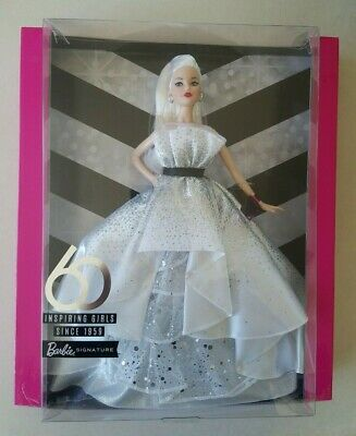 Barbie 60th Anniversary Celebration Doll New 2019 Collector Edition