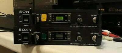 806-820.000 Mhz 1x Sony Wrr-850 Uhf Diversity Tuner Audio For Video