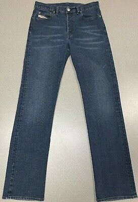 50e8f69c Diesel Jeans Skint Button Fly Medium Blue Wash Womens Size 29 X 33 Made In  Italy