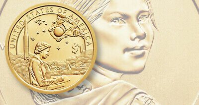 2019 Por D SACAGAWEA NATIVE AMERICAN UNCIRCULATED DOLLAR  SPACE PROGRAM