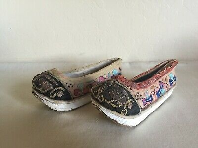 Antique Embroidered Oriental? Asian? India? Shoes