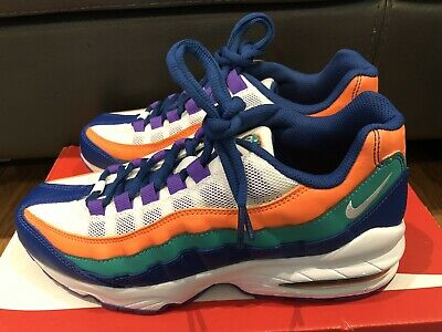 brand new 5d273 1aef5 Nike Air Max 95 GS Running Shoes Sneaker 307565-412 Youth Sz 7Y Mens 7