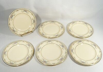 6  Royal Doulton China ROMANCE Series JULIET  BREAD SIDE Dessert  PLATES H5077