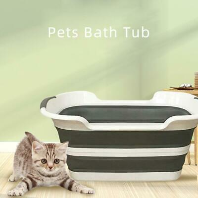 Multi-Use Silicone Folding Kids Pets Bathing Tub Dirty Clothes Portable Pet
