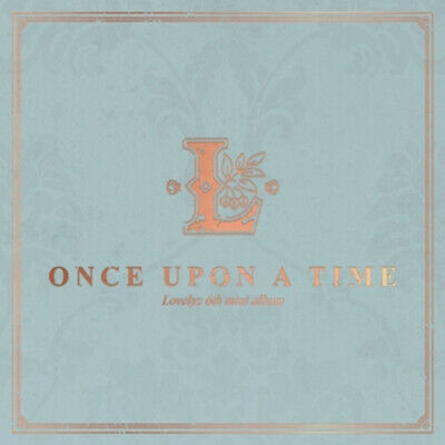 LOVELYZ-ONCE UPON A TIME 6th Mini Album, Kpop + Folded Poster