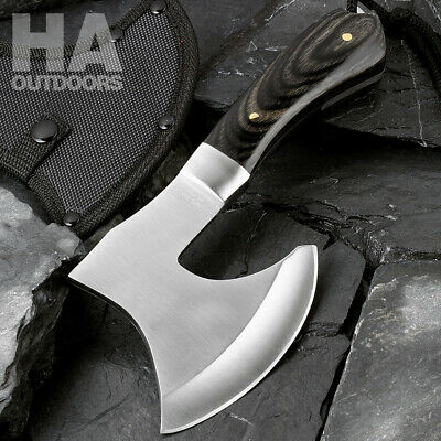 High Carbon Steel Axe Outdoor Survival Hatchet Hiking Camping Hand Tools F102