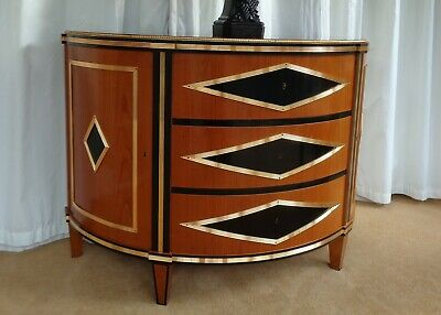 Luxury Italian Chest Of Drawers /  Commode Side Cabinet Russian Antique Style