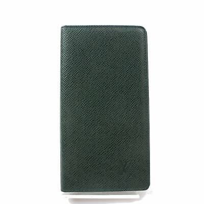 Authentic Louis Vuitton Diary Cover Agenda Posh Greens Taiga 369213