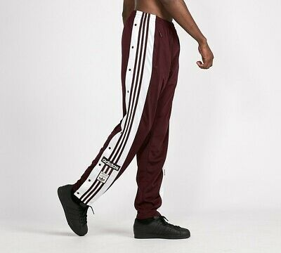 Mens Adidas Adibreak Maroon Track Pants RRP £64.99