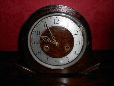 Art Deco Smiths Enfield Mantel Clock Original Smiths Enfield Key  Strikes