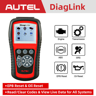 Autel Diaglink OBD Car Scan Tool Auto Diagnostic Scanner Code Reader All Systems