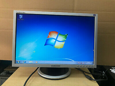 """Samsung SyncMaster 940BW 19"""" Widescreen LCD Monitor"""