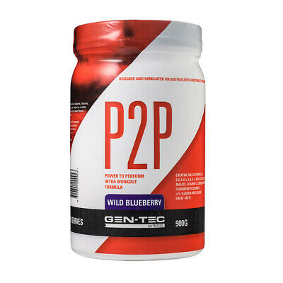 Gen-Tec Nutrition P2P Intra Workout 900g - Blueberry
