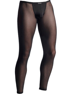 MANSTORE M863 - Netz Bungee Leggings - black