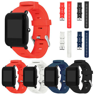 Sports Silicon Replacement Wristband Strap For Huami Amazfit Bip Youth Watch