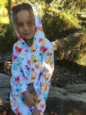 Koala Hooded Towel Back Beach Co