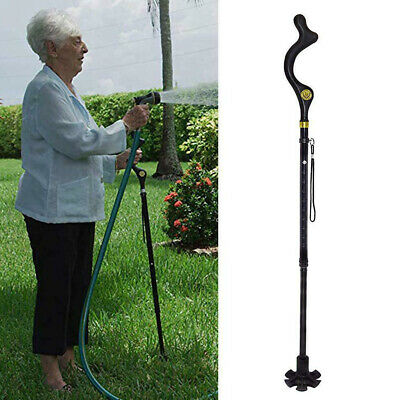 Foldable Old Man Posture Cane - Cane With Adjustable Height Tool STYLE