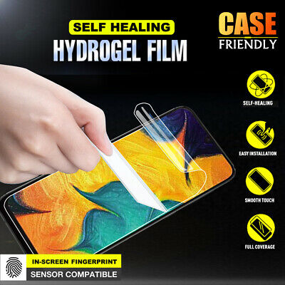 Samsung Galaxy A20 A30 A50 A70 HYDROGEL Crystal Full Coverage Screen Protector
