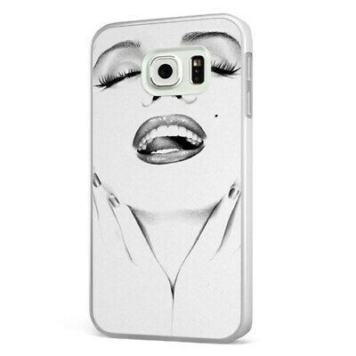 Marilyn Monroe Face Beautiful WHITE PHONE CASE COVER for SAMSUNG GALAXY