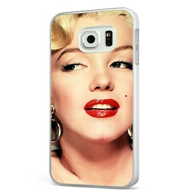 Marilyn Monroe Beautiful Face WHITE PHONE CASE COVER for SAMSUNG GALAXY