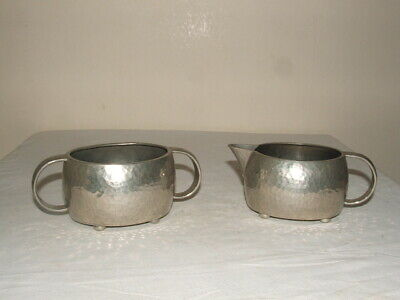 Archibald Knox 4 Libertys Tudric Pewter Footed Jug & Bowl  Truly Fabulous