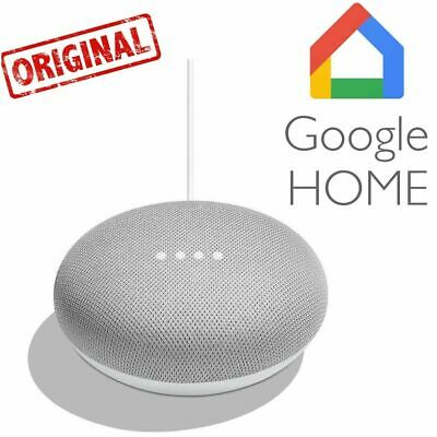 Google Home Mini Assistant Vocal Version Originale Boîtier Google Blanc