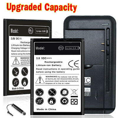 For ZTE Prestige 2 N9136 Battery (2x 2200mAh) or Universal Travel Charger Stylus