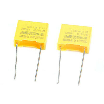 20 x Radial Capacitors 0.022uF 22nF  275VAC 223 Safety Capacitors -10mm Pitch