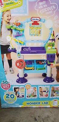 Little Tikes STEM Jr. Wonder Lab Toy with Experiments for Kids. Brand new in box