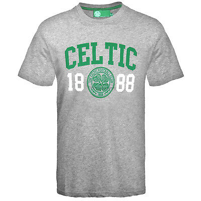 Celtic FC Official Football Gift Mens Graphic T-Shirt
