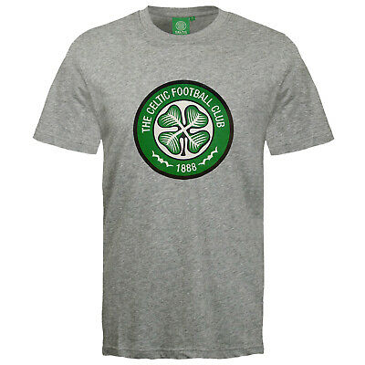 Celtic FC Official Football Gift Mens Crest T-Shirt