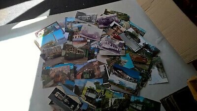Gros Lot 270 Cp Modernes Trains Tramways Funniculaires Telepheriques