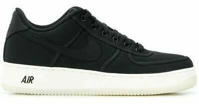 purchase cheap 90bcd a7122 Nike Air Force 1 Low Retro Qs Canvas Mens Shoes Size 11.5 Black White  Ah1067 004