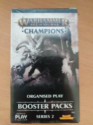 Warhammer Age Of Sigmar Champions Organised Play Booster Packs Series 2